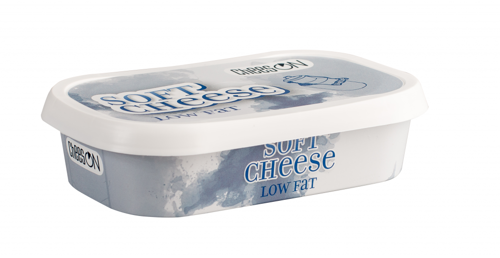 Low-fat cream cheese