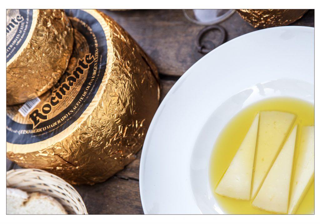 Manchego olive oil