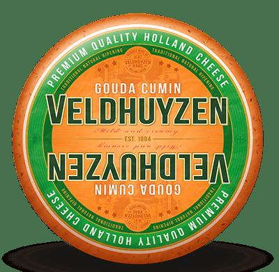 High quality Dutch gouda with added cumin