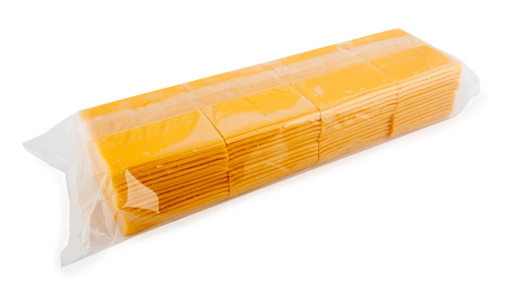 Cheddar sliced
